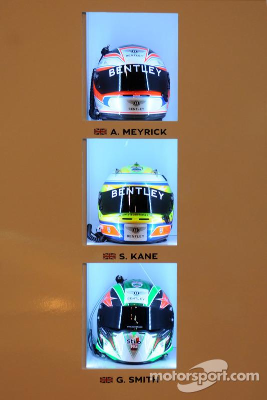 Bentely drivers Helmets
