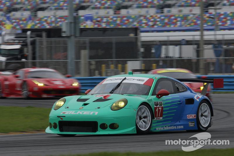 #17 Team Falken Tire, Porsche 911 GT3 RSR: Wolf Henzler, Bryan Sellers, Patrick Long