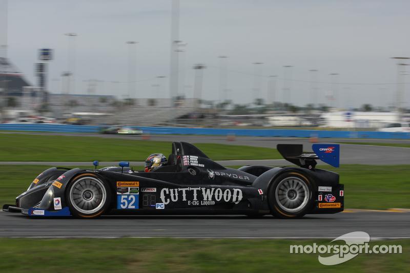 #52 PR1 Mathiasen Motorsports Oreca FLM09: Mike Guasch, Andrew Novich, Andrew Palmer, Tom Kimber-Smi