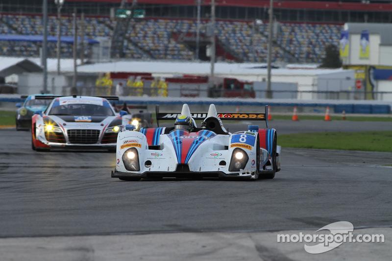 #8 Starworks Motorsport ORECA FLM09: Mirco Schultis, Renger van der Zande, Alex Popow, Mike Hedlund,