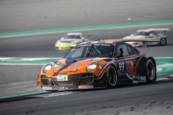 #99 Attempto Racing Porsche 997 GT3 R: Arkin Aka, Andreas Liehm, Bernd Kleinbach, Philipp Wlazik, Bill Barazetti