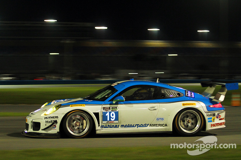 #19 Muehlner Motorsports America Porsche 911 GT America: Jim Michaelian, Marc Basseng, Matteo Beretta, Darryl O'Young, Connor de Phillippi