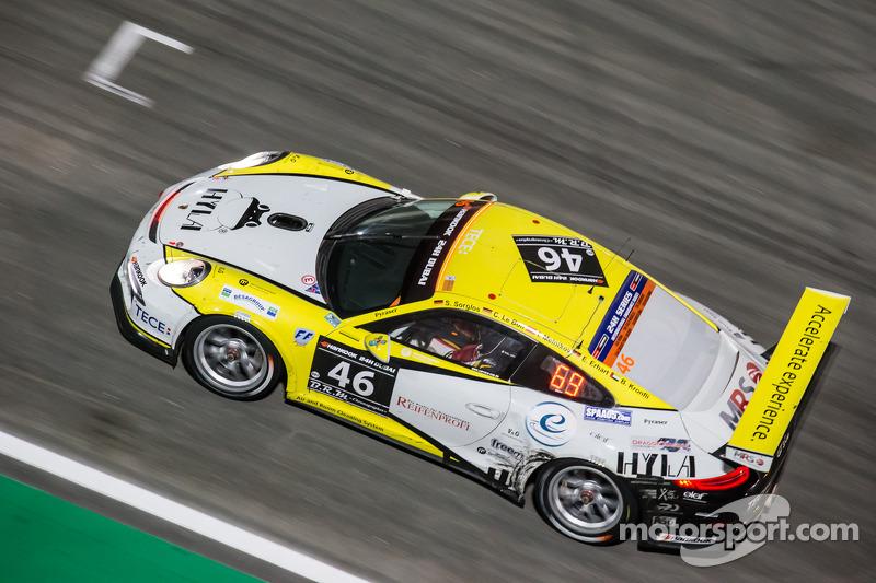 #46 MRS GT-Racing Porsche 991 Cup: Siegfried Venema, Chris le Bon, Ilya Melnikov, Bassam Konfli, Elia Erhar