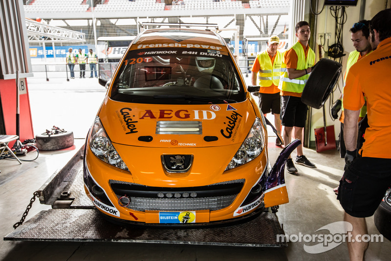 #120 Frensch Power Motorsport, Peugeot 207 RCR: Lisa Brunner, Martin Heidrich, Reinhard Nehls, Fried