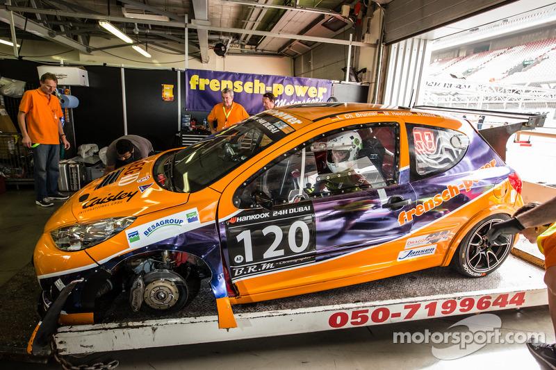 #120 Frensch Power Motorsport Peugeot 207 RCR: Lisa Brunner, Martin Heidrich, Reinhard Nehls, Friedh
