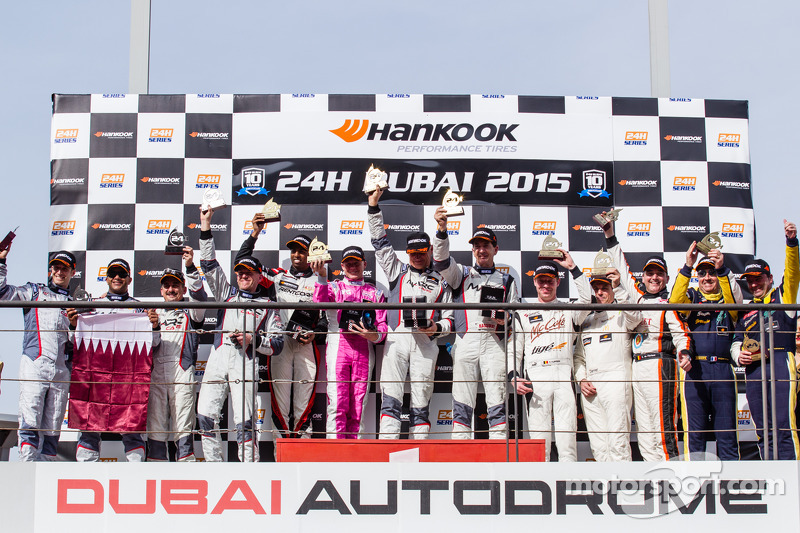 SP2 podium: class winners Keith Kassulke, Tony Alford, Peter Leehmhuis, Malcolm Niall, second place