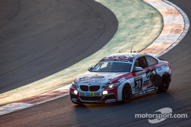 #70 Mission Possible By Sorg Rennsport BMW M235i Racing Cup: Gustav Engljähringer, Marc Dilger, Mike Smit, Matt Speakman