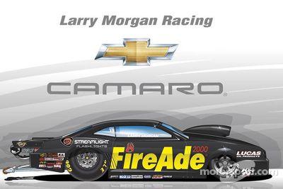 Larry Morgan Racing onthulling