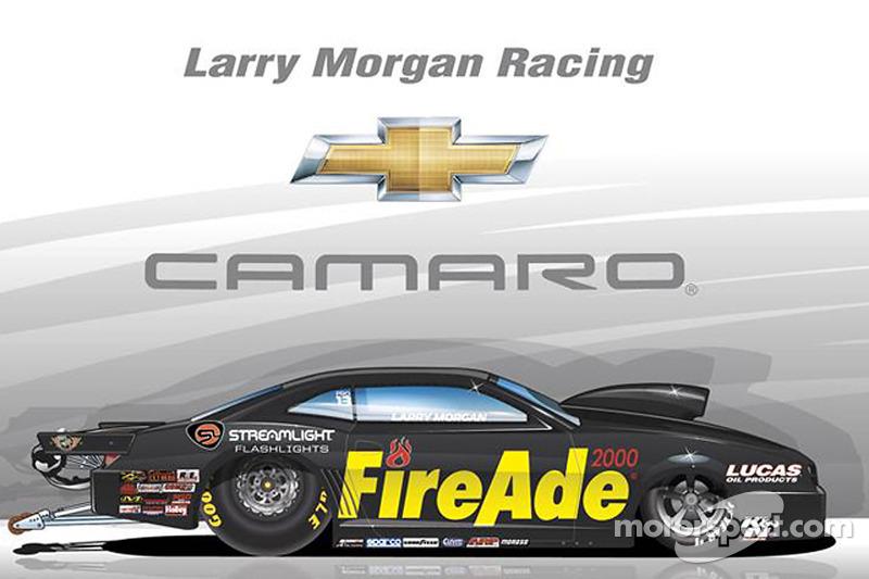 Larry Morgan livery