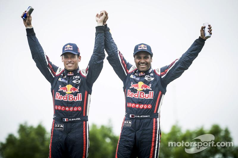 Dakar Rally: Nasser Al-Attiyah (Qatar), Mathieu Baumel (Frankrijk)