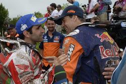 Paulo Goncalves e Ruben Faria