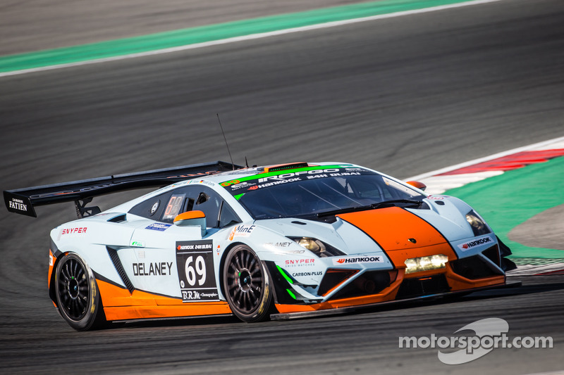 Perfect #69 Gulf Racing UK Lamborghini Gallardo LP560 GT3: Roald Goethe, Stuart  Hall,