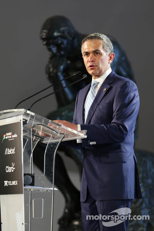 Miguel Angel Mancera, Mayor of Mexico City