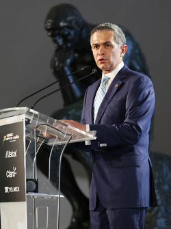 Miguel Ángel Mancera, alcalde de la Ciudad de México