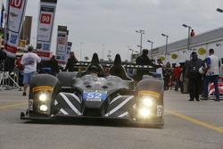 #52 PR1 Mathiasen Motorsports, Oreca FLM09: Mike Guasch, Andrew Novich, Andrew Palmer, Tom Kimber-Smith