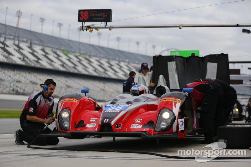 #38 Performance Tech Motorsports, Oreca FLM09: James French, Jerome Mee, James Vance, Sean Johnston