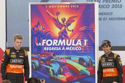 ملصق إعلان جائزة المكسيك الكبرى معنيكو هلكنبرغ وسيرجيو بيريز