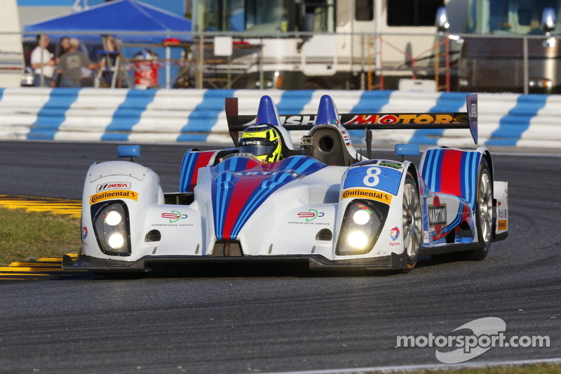 #8 Starworks Motorsport, ORECA FLM09: Mirco Schultis, Renger van der Zande, Alex Popow, Mike Hedlund, Filipe Albuquerque