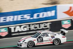 #87 GDL Racing, Porsche 997 Cup: Bashar Mardini, Nigel Farmer, Lim Koeng Liam, Paul Stubber, Gianluca de Lorenzi