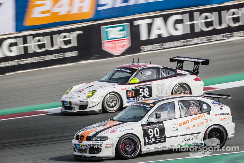 #90 Car Point S Racing Schmieglitz, SEAT Leon Supercopa: Daniel Schmieglitz, Cyndie Allemann, Heino