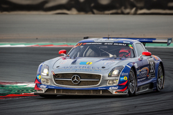 #33 SPS automotive-performance Mercedes SLS AMG GT3: Valentin Pierburg, Lance David Arnold, Patrick Assenheimer, Alex Müller