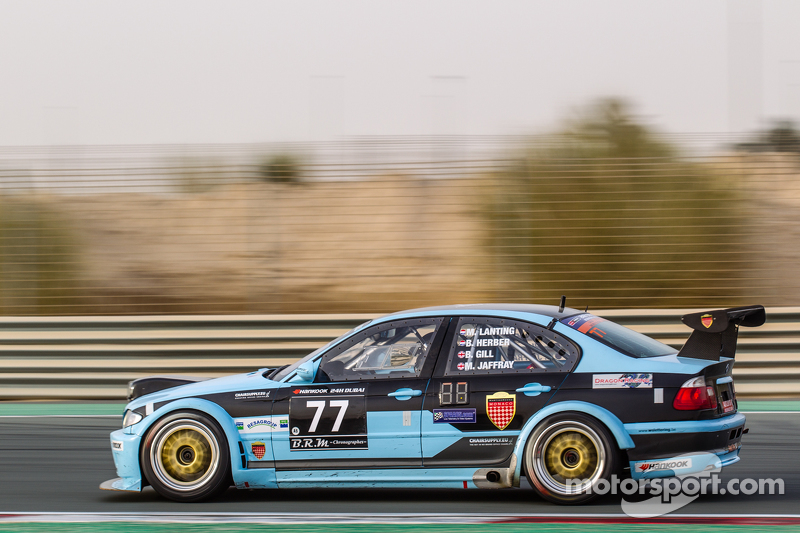 #77 JR Motorsport, BMW E46 GTR: Bob Herber, Martin Lanting, Ben Gill, Mark Jaffray