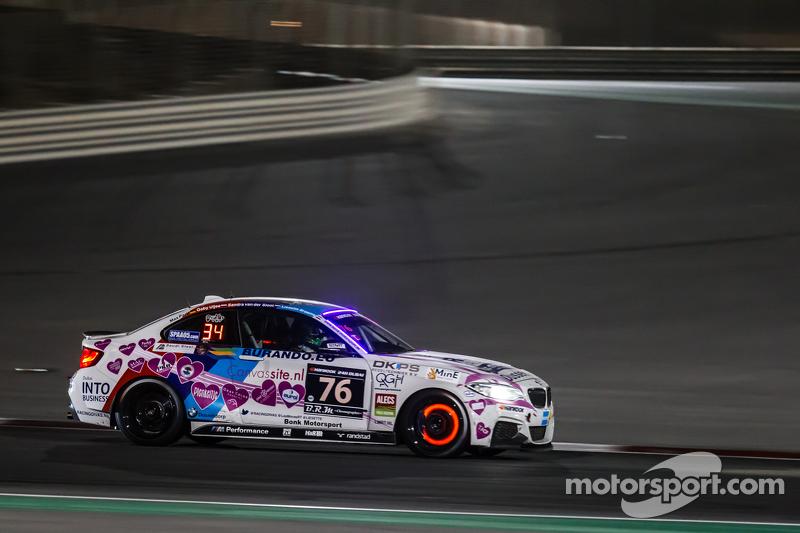 #76 Racingdivas by Las Moras BMW M235i Racing Cup: Liesette Braams, Sandra van der Sloot, Gaby Uljee, Max Partl