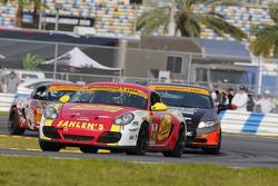 #43 Team Sahlen Porsche Cayman: Will Nonnamaker, Joe Sahlen, Wayne Nonnamaker, Jeff Segal