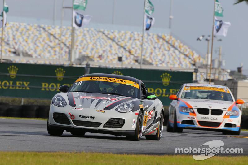 #18 RS1, Porsche Cayman: Jon Miller, Adam Isman