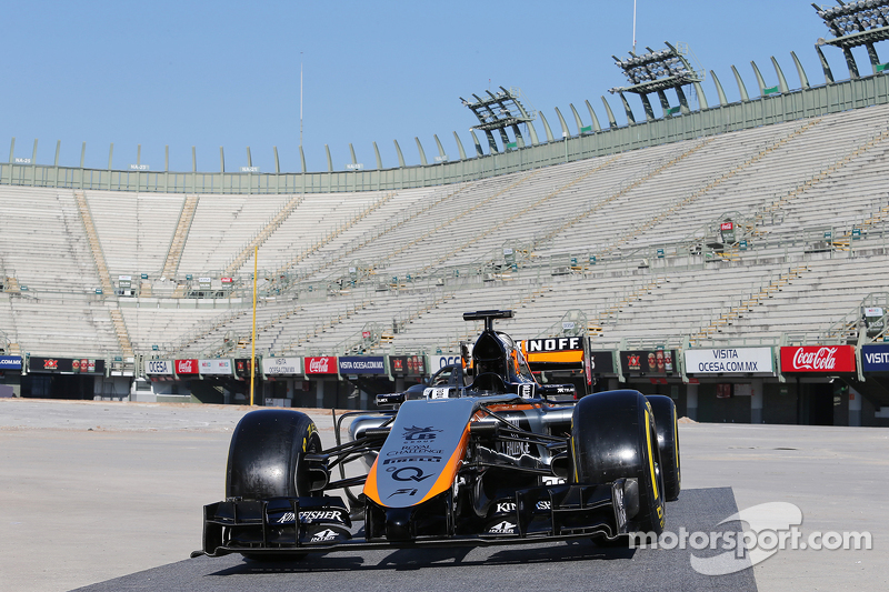 Sahara Force India F1 Team, neues Teamdesign