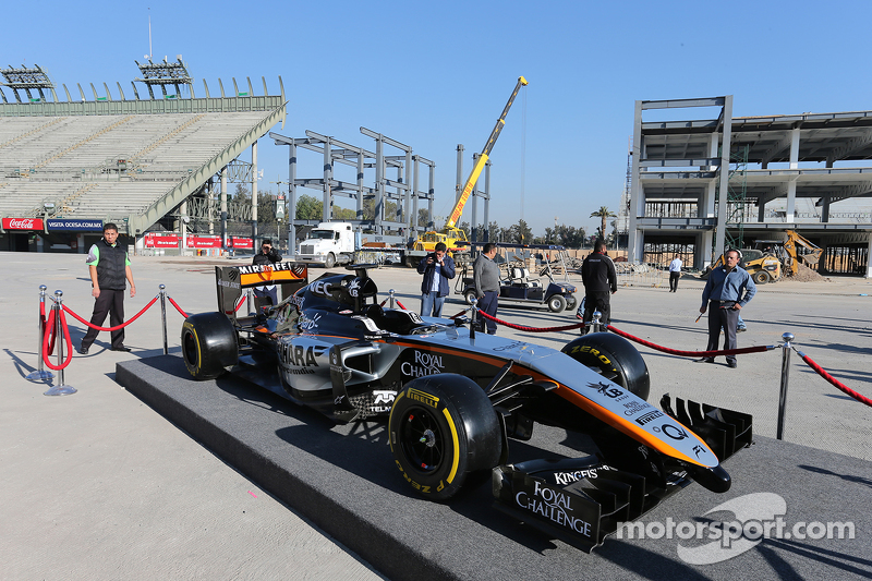 Designpräsentation Sahara Force India F1 Team für 2015