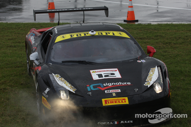 #12 Ferrari of Ft. Lauderdale Ferrari 458: Dan O'Neal