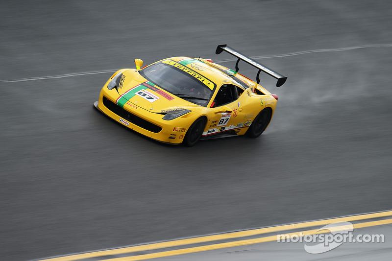 #87 Ferrari of San Diego Ferrari 458: Rich Baek