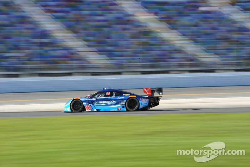 #90 VisitFlorida.com Racing Corvette DP: Richard Westbrook, Michael Valiante, Mike Rockenfeller, Guy