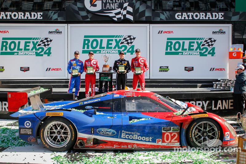 2015: Sieg bei den 24 Stunden von Daytona