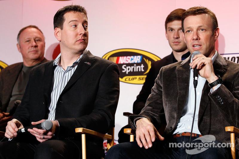 Kyle Busch, Matt Kenseth, Joe Gibbs Racing