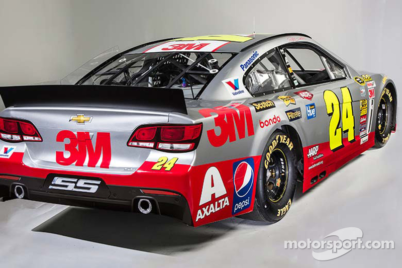 Jeff Gordon's 3M scheme