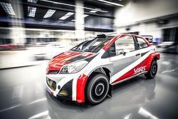 El Toyota CS-R3 para rally