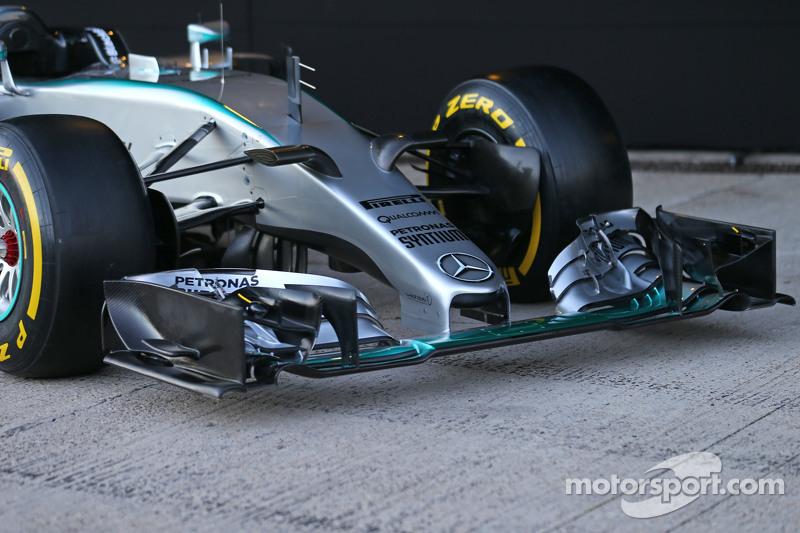 Mercedes AMG F1 W06 ön kanat