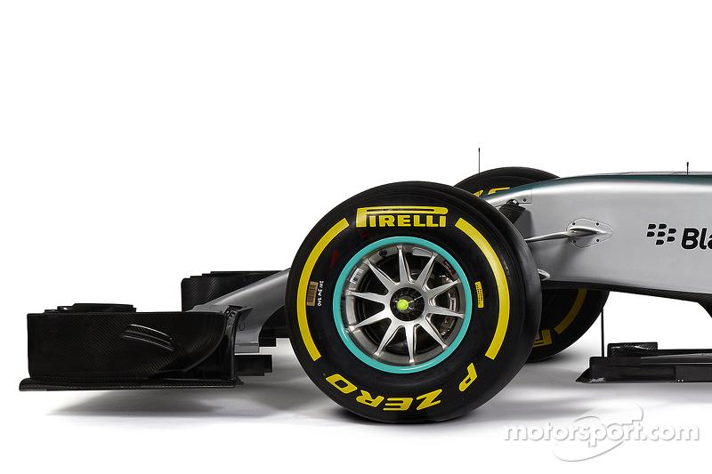 Details am neuen Mercedes AMG F1 W06
