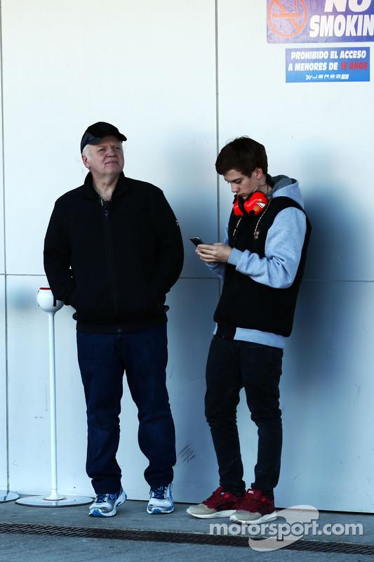 Norbert Vettel, pai de Sebastian Vettel, Ferrari