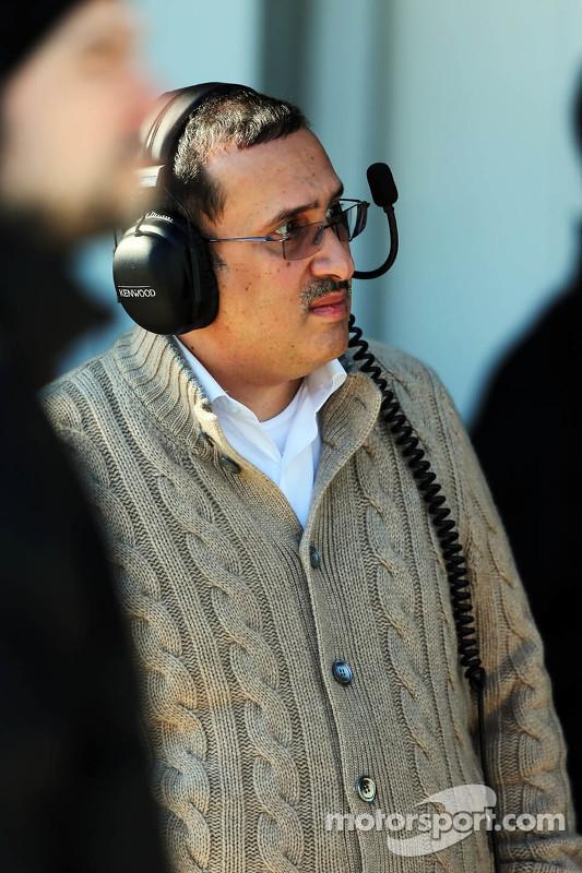 Sheikh Mohammed bin Essa Al Khalifa, CEO e Bahrain Economic Development Board e sócio McLaren