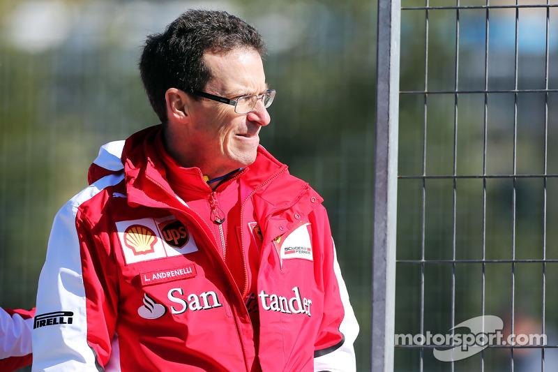 Lorenzo Andrenelli, Ferrari