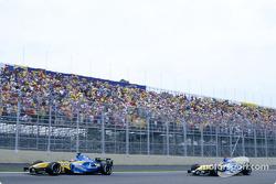 Fernando Alonso and Jacques Villeneuve