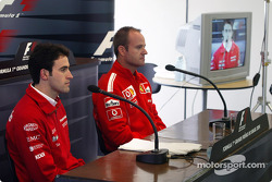 FIA press conference: Ricardo Zonta and Rubens Barrichello