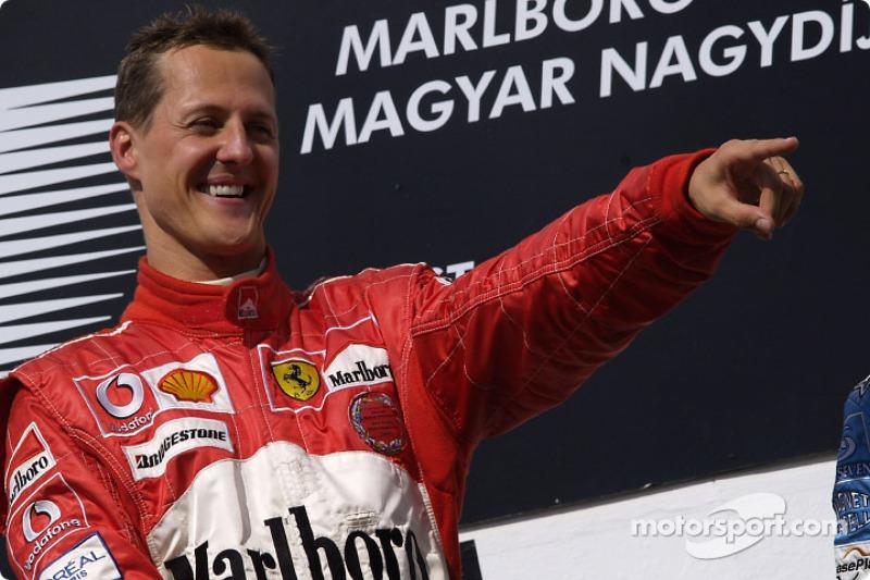 Michael Schumacher (72 victorias)