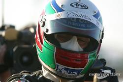 Race winner Max Angelelli