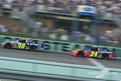 Jimmie Johnson und Jeff Gordon