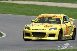 #65 SpeedSource Mazda RX-8: Shawna Marinus, Paul Mears Jr.