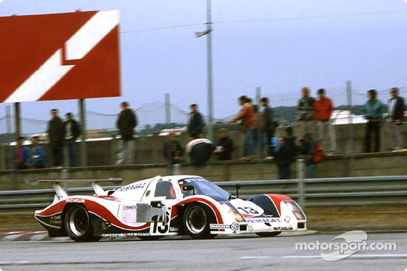 #13 Primagaz team Cougar Cougar C12 Porsche: Alain de Cadenet, Yves Courage, Pierre-Henri Raphanel